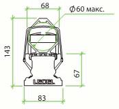 светодиодный уличный светильник L-STREET-24, Л-СТРИТ, ЭЛ-СТРИТ, габаритные размеры, схема, технические характеристики